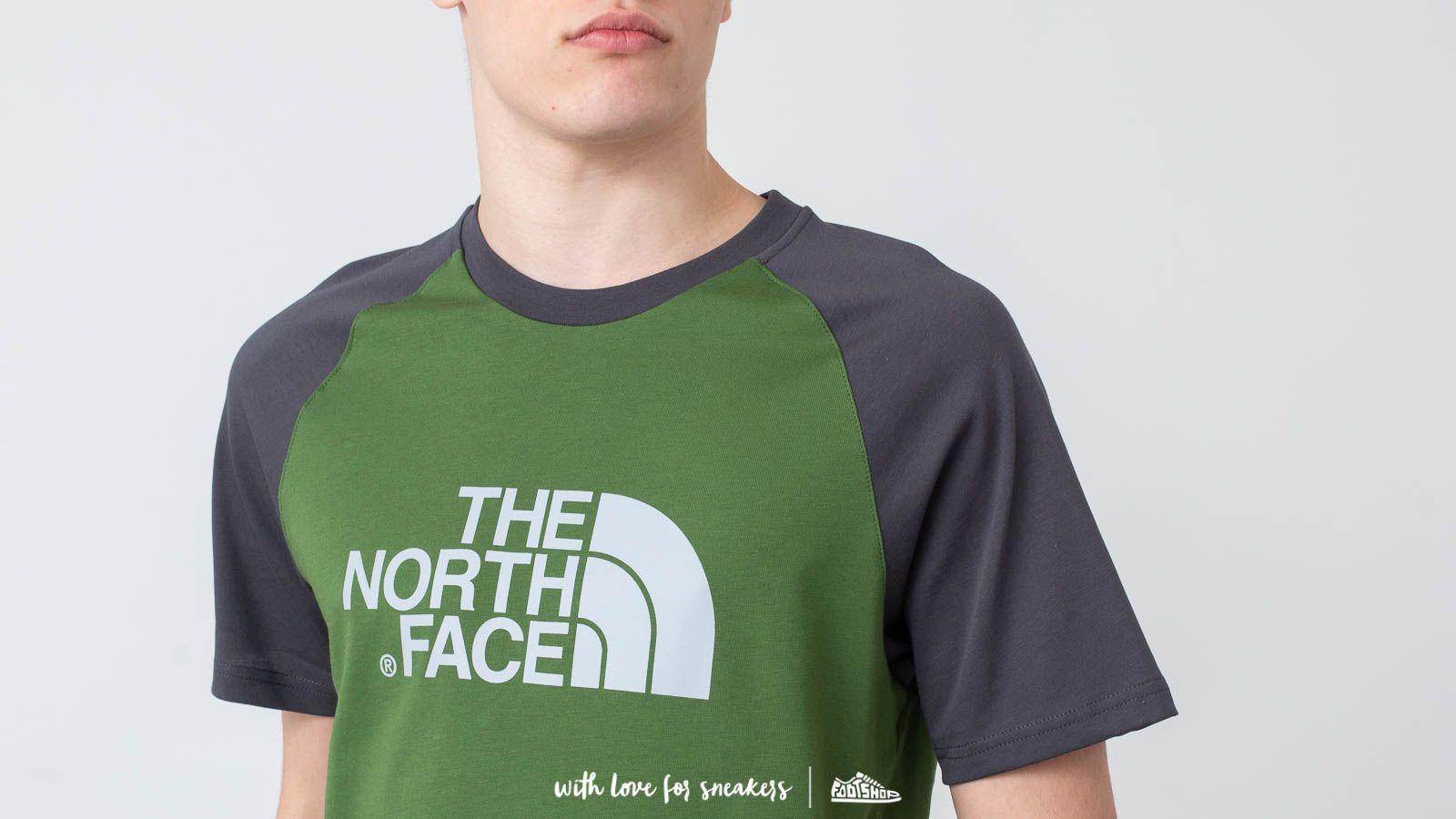 4046472bb The North Face Raglan Easy Tee Garden Green | Footshop