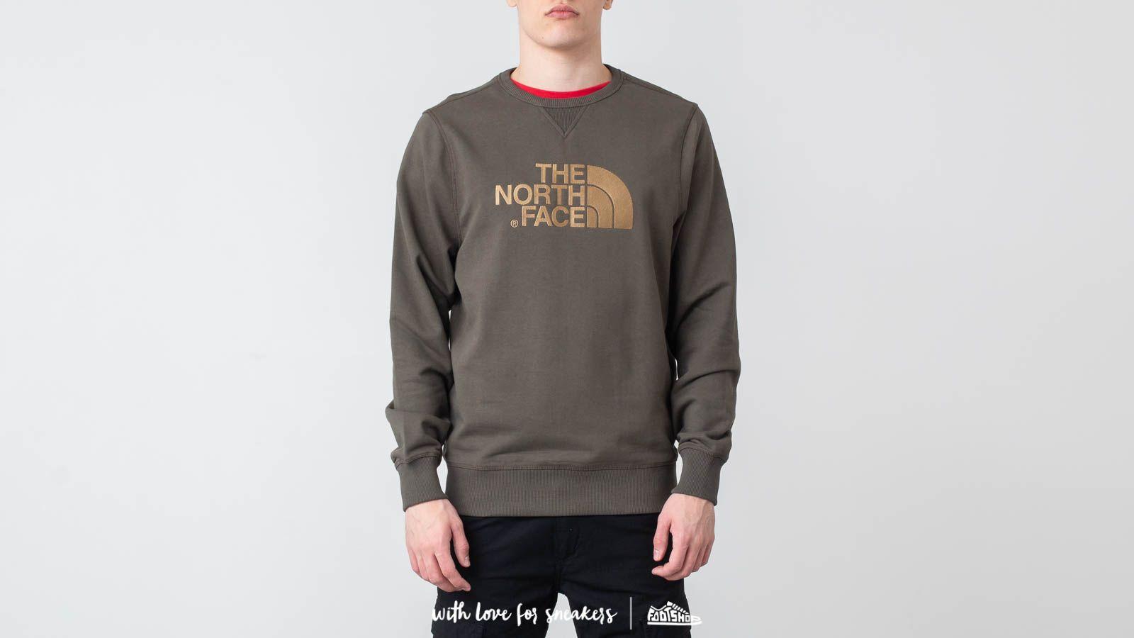 The North Face Drew Peak Crew New Taupe Green za skvelú cenu 70 € kúpite na Footshop.sk