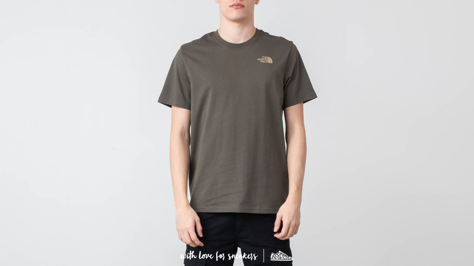 Trička The North Face Red Box Tee New Taupe Green