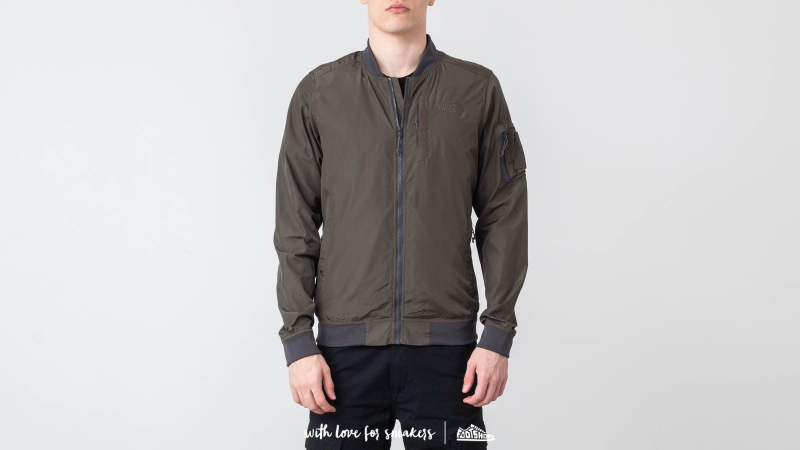 The North Face Meaford Bomber New Taupe Green at a great price 110 € buy at Footshop