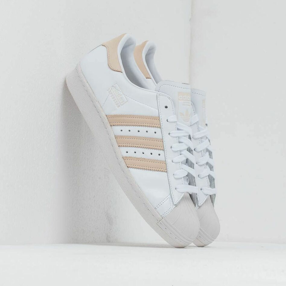adidas Superstar 80S Ftw White/ Ecrtin/ Crystal White EUR 40