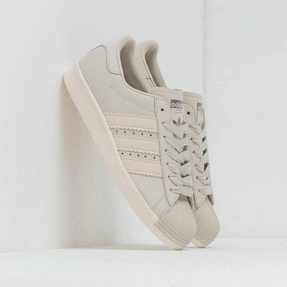 adidas Superstar 80S W Cream Brown/ Cream Brown/ Off White EUR 39 1/3
