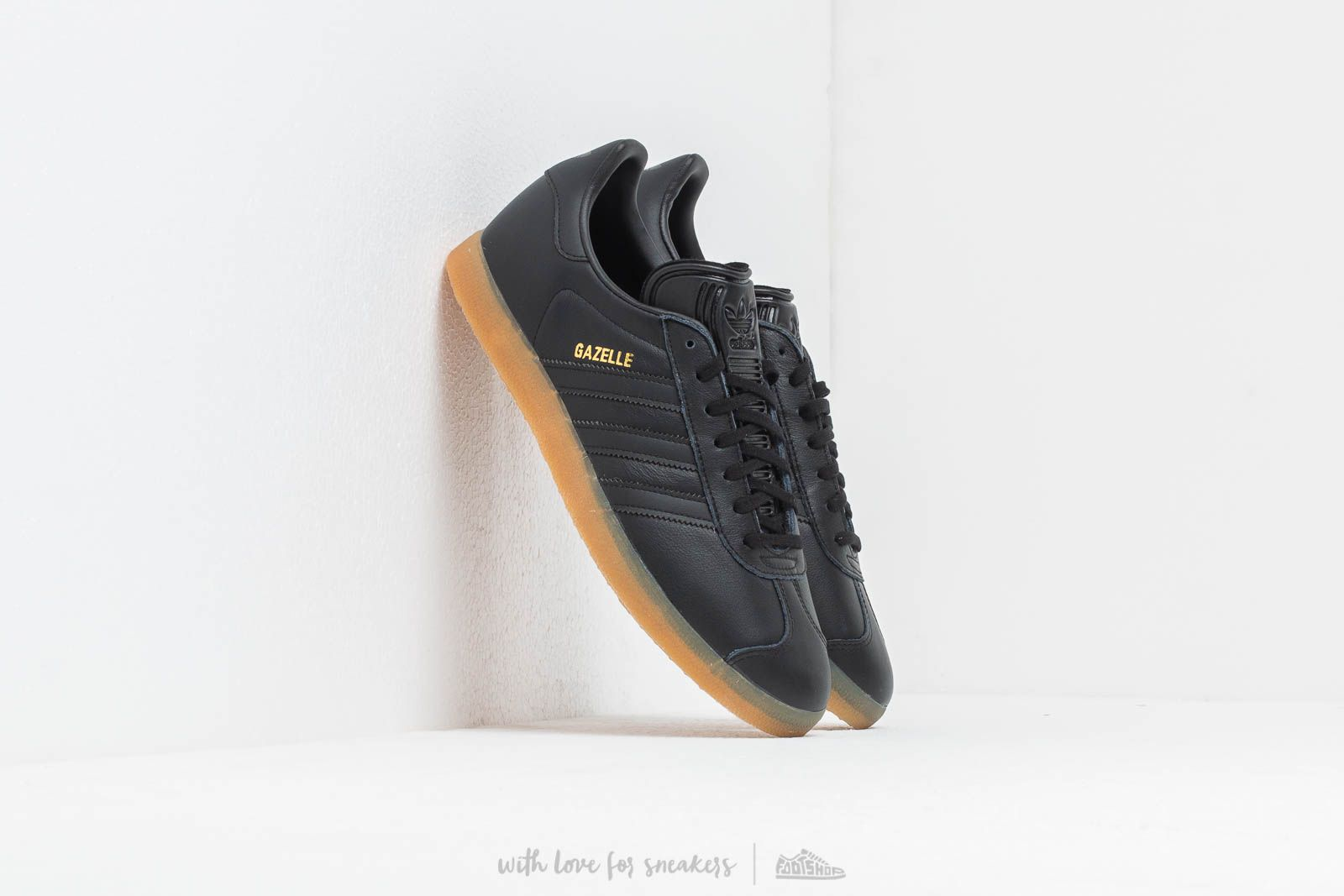 adidas Gazelle Core Black/ Core Black/ Gum at a great price 87 € bestell bei Footshop