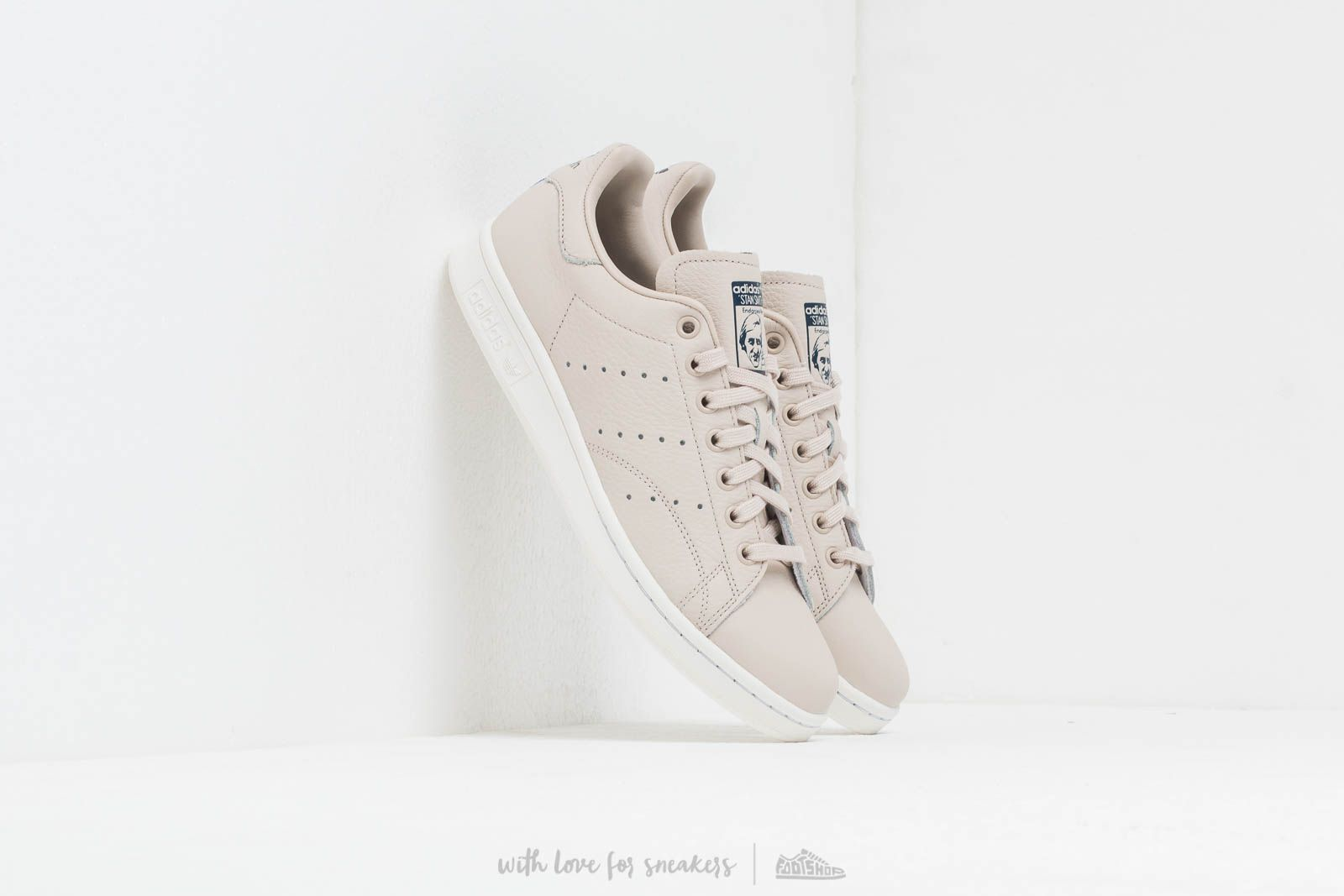 adidas Stan Smith Cream Brown  Crystal White  Core Navy at a great price 92 680dbddf6