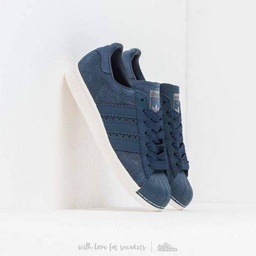 adidas Superstar 80S W Conavy/ Conavy/ Off White | Footshop