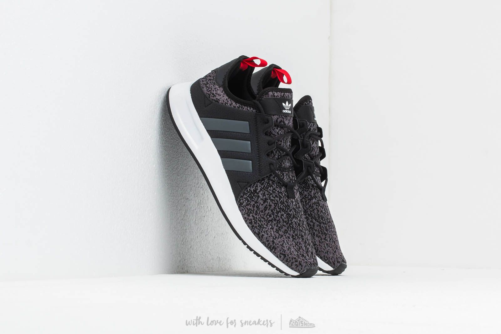 adidas X_PLR Core Black Grey Six Scarlet | Footshop