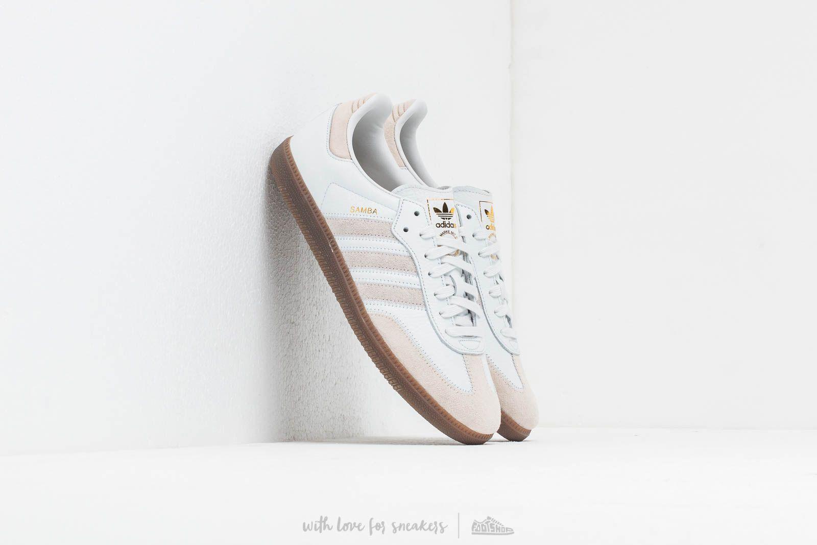 adidas Samba Og Ft Crystal White/ Raw White/ Gold Metalic za skvělou cenu 2 490 Kč koupíte na Footshop.cz