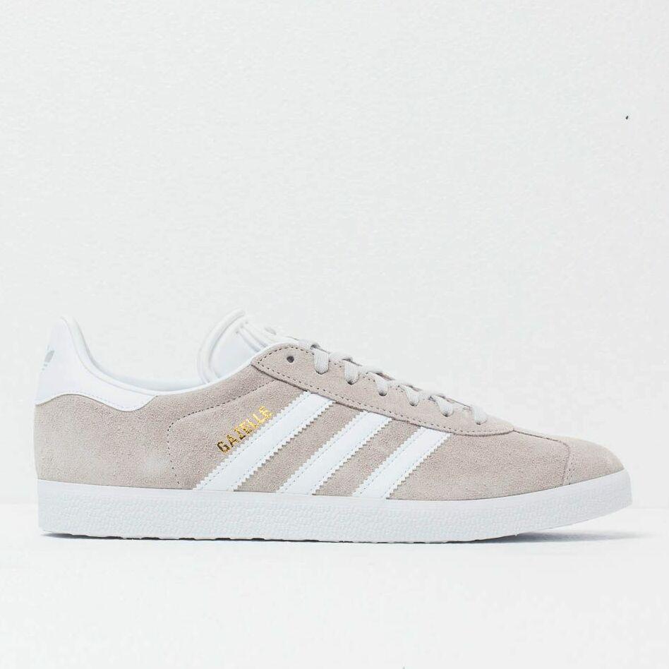 adidas Gazelle Grey One/ Ftw White/ Gold Mint, Brown