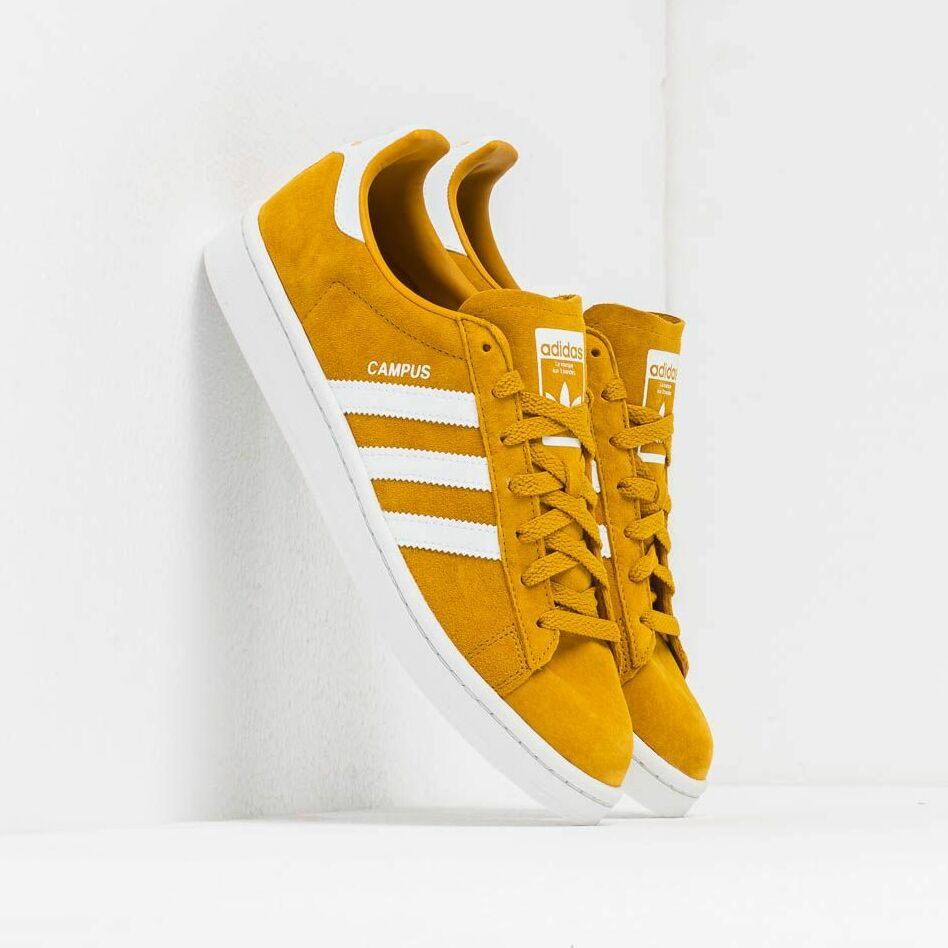 adidas Campus Raw Ochre/ Ftw White/ Crystal White EUR 44