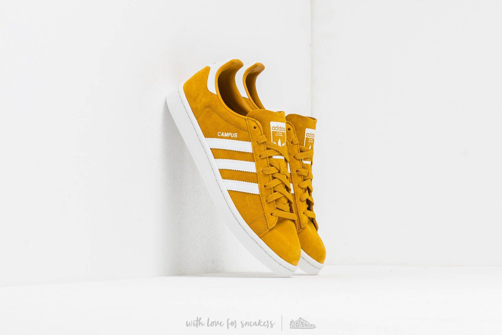 Мужская обувь adidas Campus Raw Ochre/ Ftw White/ Crystal White