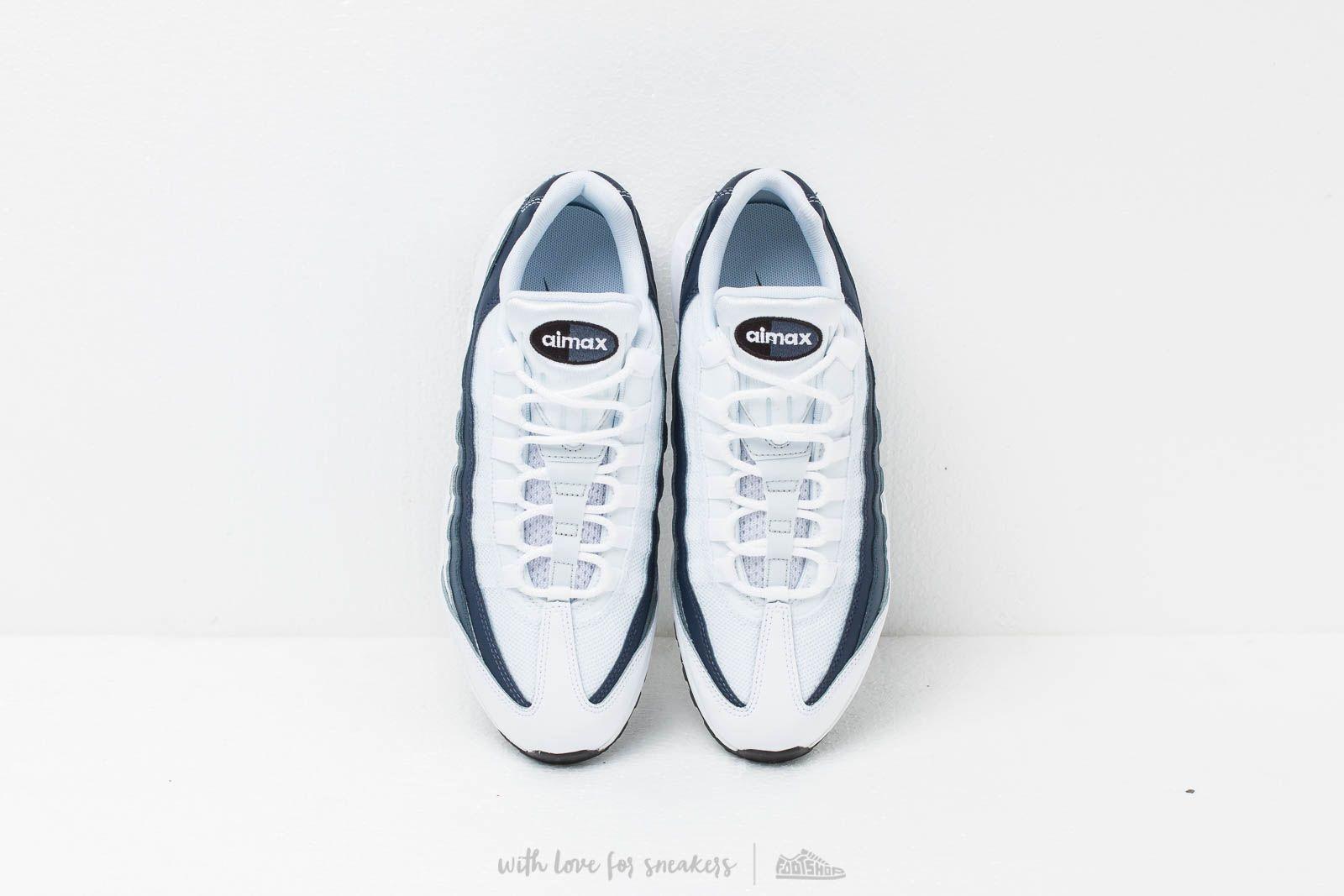 Nike Air Max 95 Essential White  White-Midnight Navy-Monsoon Blue at a 4f8f52204