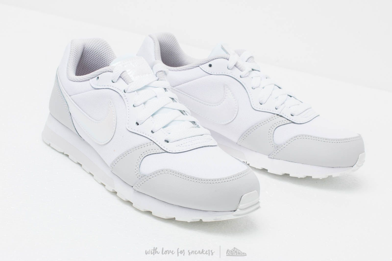 6844151077 Nike Md Runner 2 (GS) White  White-Vast Grey at a great