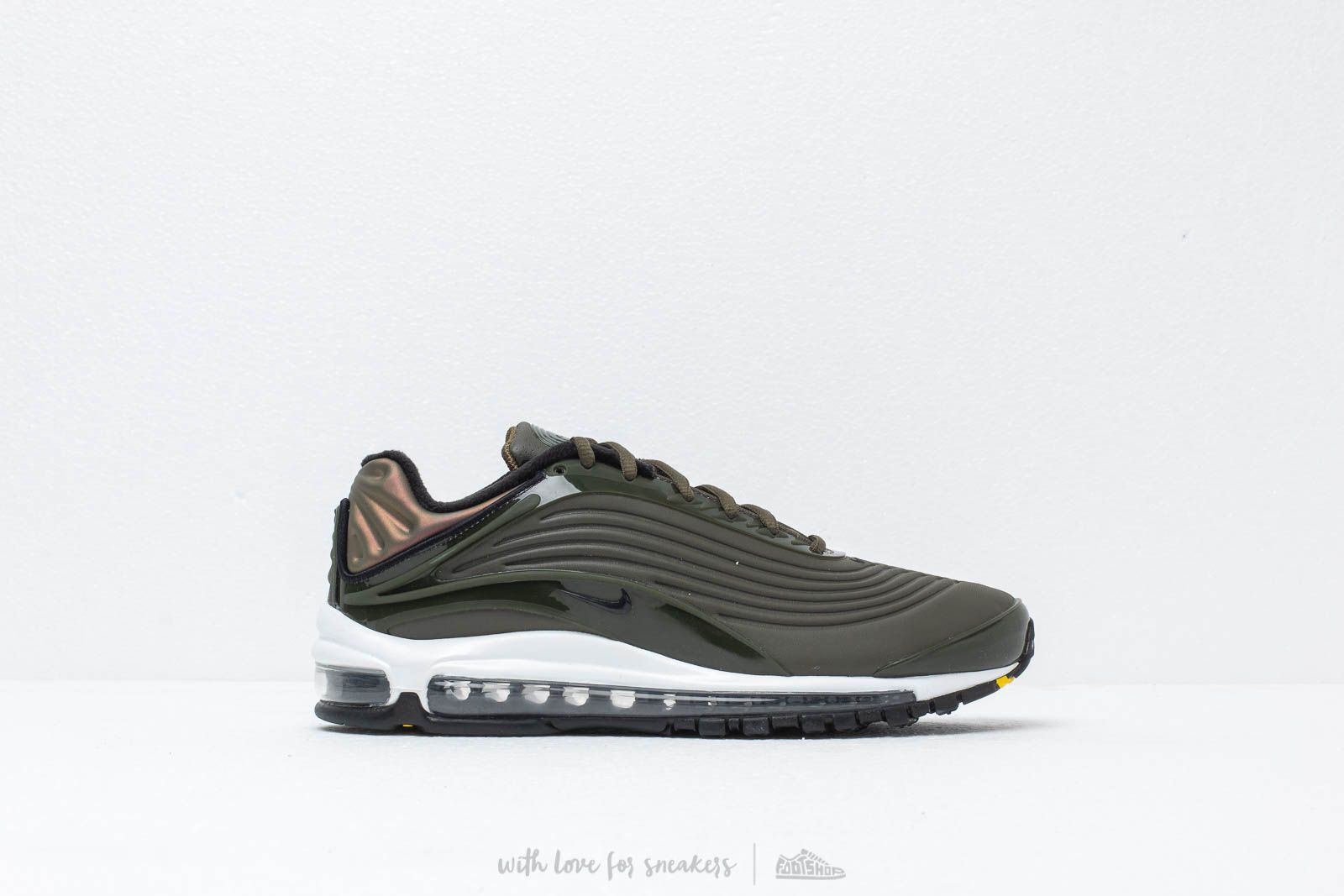 best website 68afc 7a3c9 Nike Air Max Deluxe Se Cargo Khaki  Black-Amarillo-White at a great