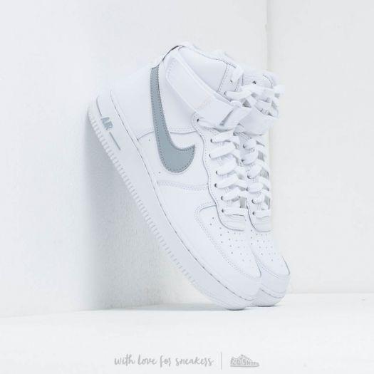 Nike Air Force 1 High '07 3 White Wolf Grey | Footshop