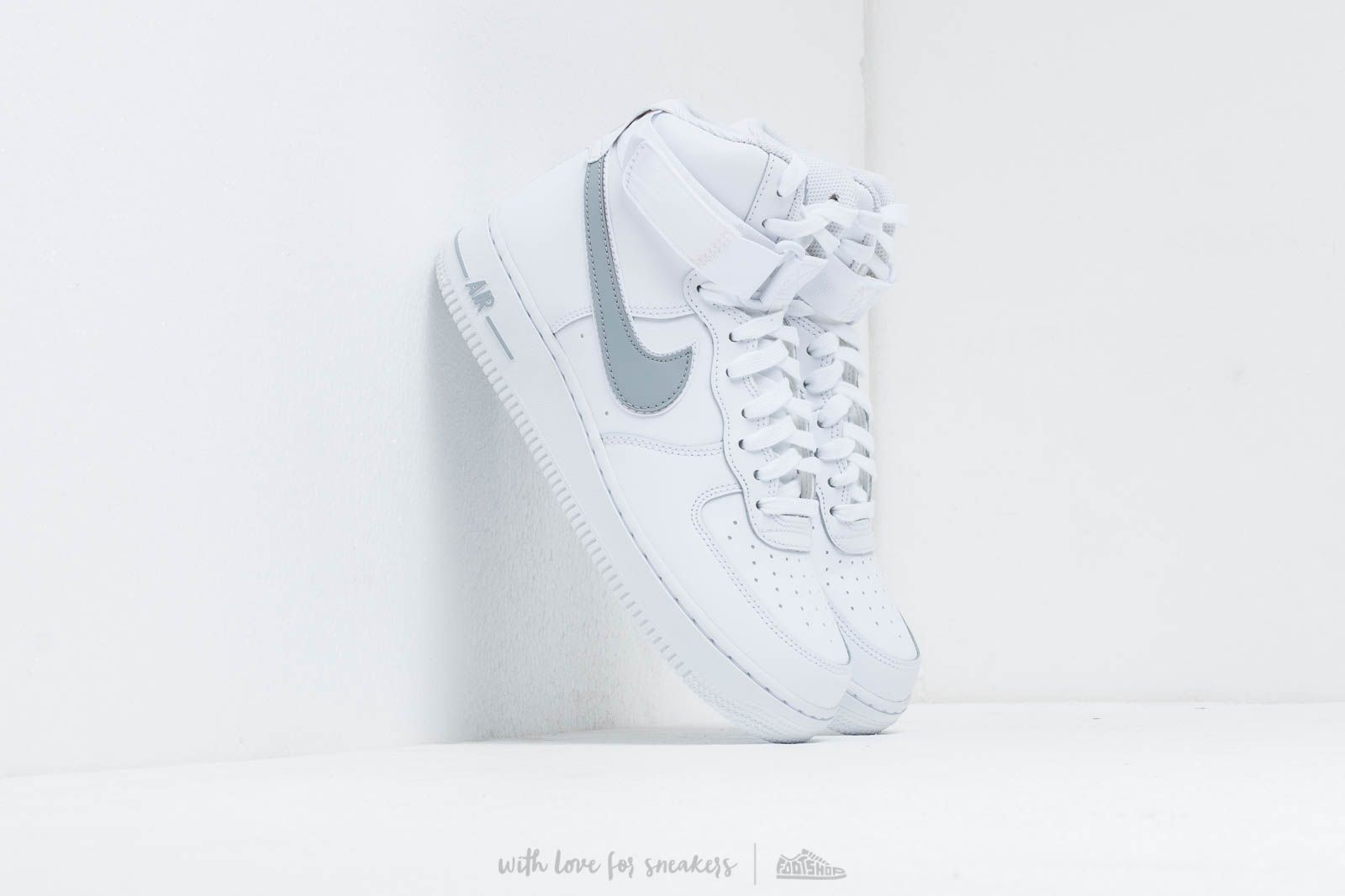 watch 4e11b b2310 Nike Air Force 1 High  07 3 White  Wolf Grey at a great price
