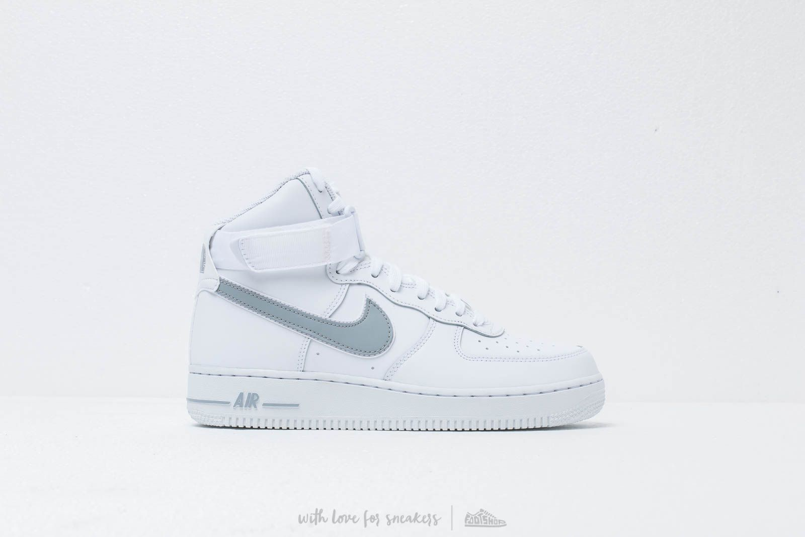 watch 8a021 c4315 Nike Air Force 1 High  07 3 White  Wolf Grey at a great price
