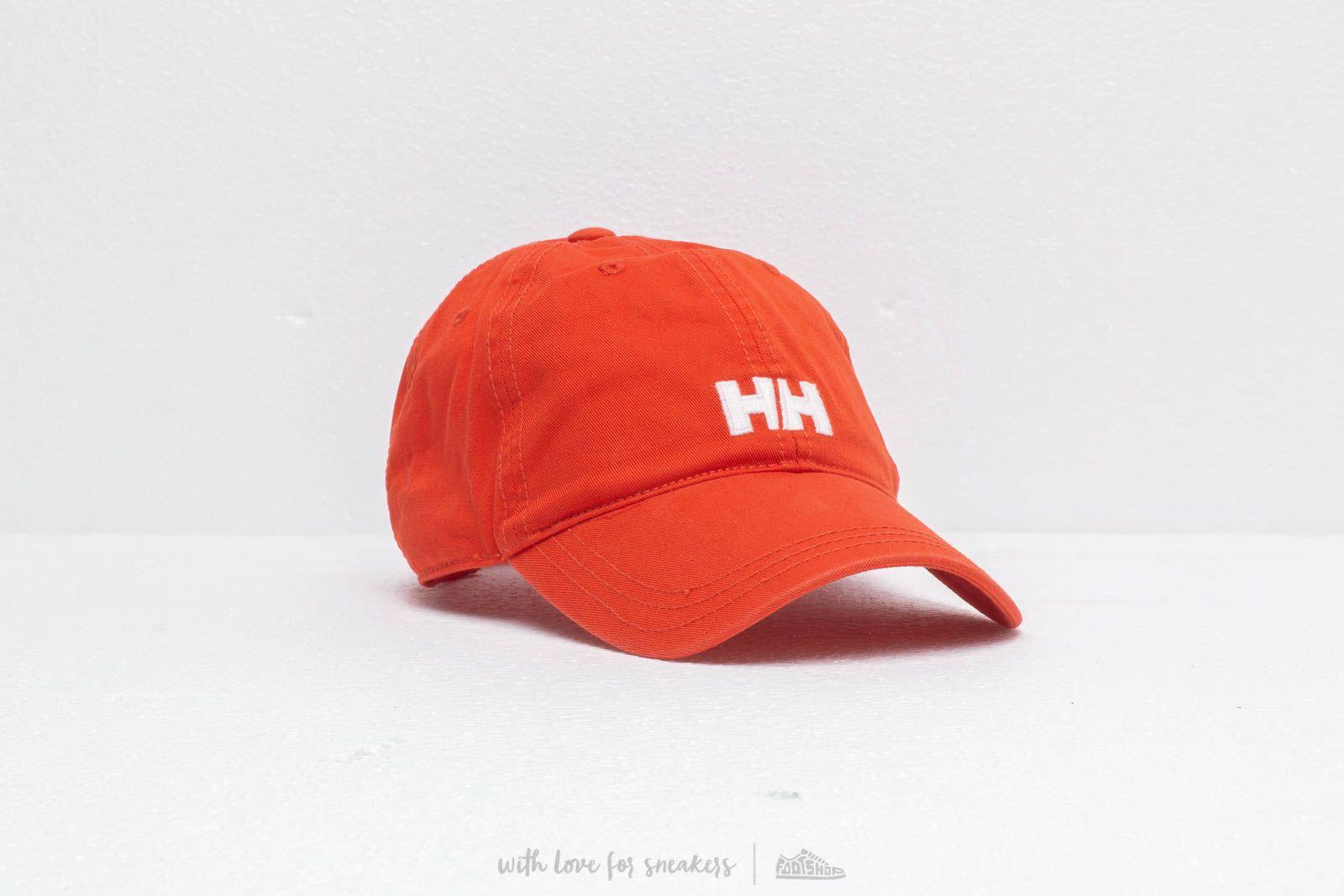 Helly Hansen Logo Cap Red