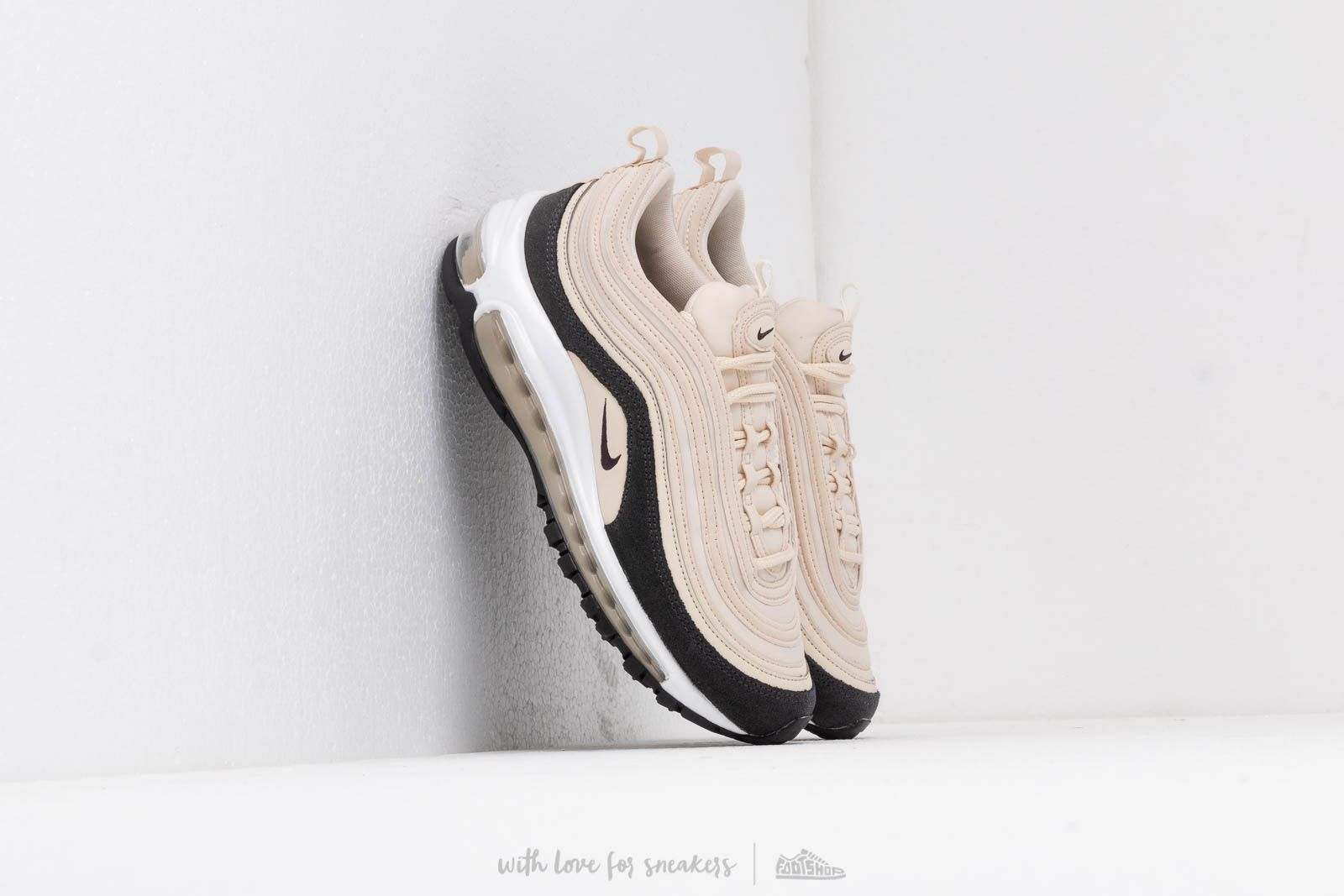 fc16b65706 Nike W Air Max 97 Premium Light Cream/ Oil Grey-Light Cream | Footshop