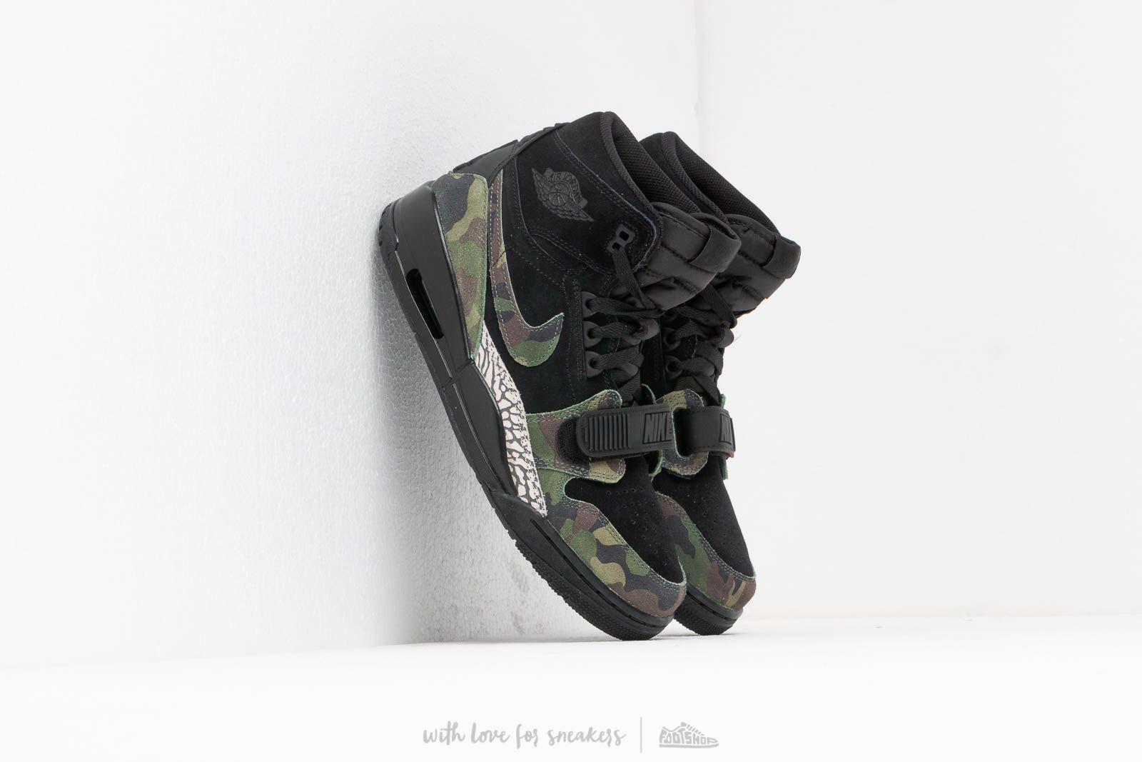 Air Jordan Legacy 312 Black/ Camo Green-Black at a great price 139 € buy at Footshop