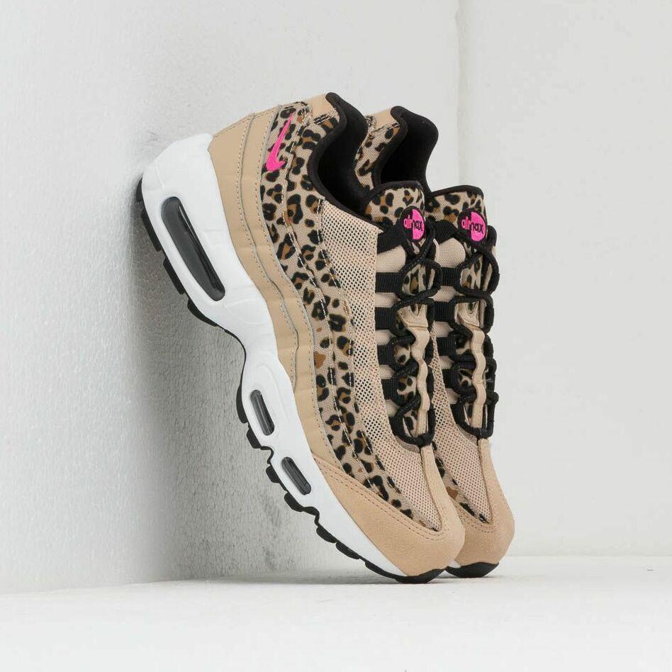 Nike Wmns Air Max 95 Premium Desert Ore/ Laser Fuchsia-Black-Wheat EUR 40