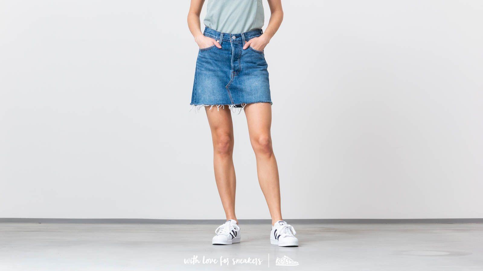 Sukně Levi's® Deconstructed Skirt Middle Man