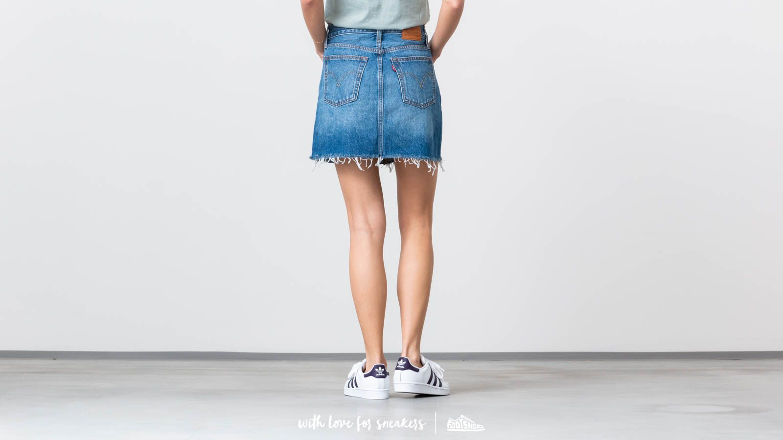 c0b82011e8 Levis® Deconstructed Skirt Middle Man at a great price £48 buy at Footshop