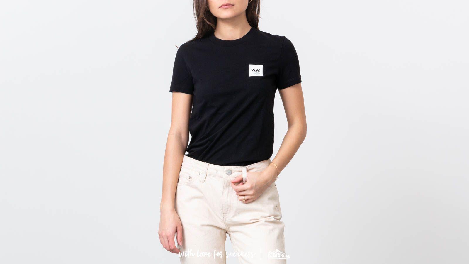 Majice i košulje WOOD WOOD Eden Tee Black