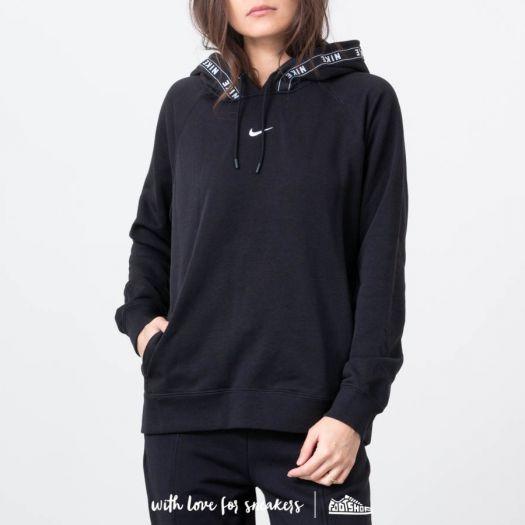 Mode günstig Großhandelspreis 2019 Nike Logo Tape Hoodie Black/ White   Footshop