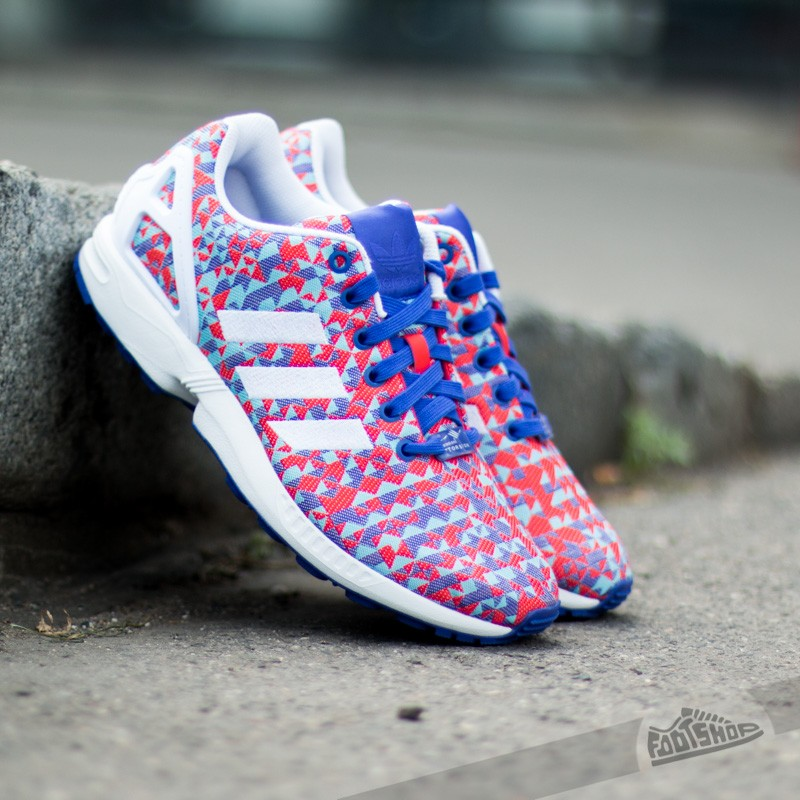 Ανδρικά παπούτσια adidas ZX Flux Weave Nigth Flash/Ftwr White/Core black