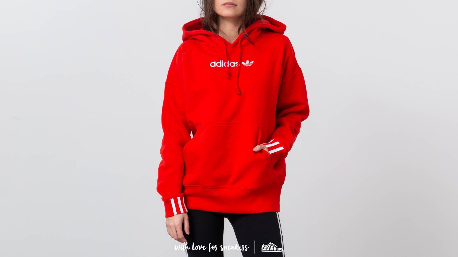 c7bd3a37 adidas Coeeze Hoodie Active Red | Footshop