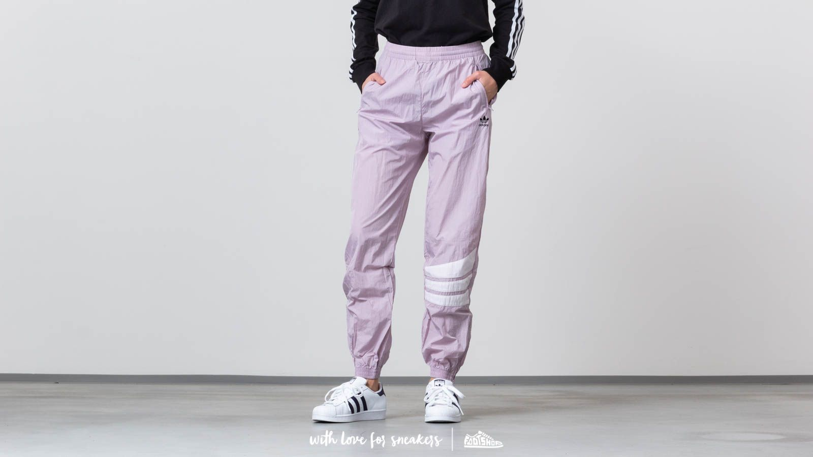 a46b5ea6bd70a adidas Originals Cuffed Pants Soft Vision | Footshop