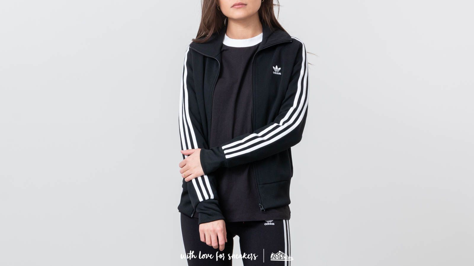 enjuague Abuelo Leonardoda  Sweatshirts adidas Originals TT Black | Footshop