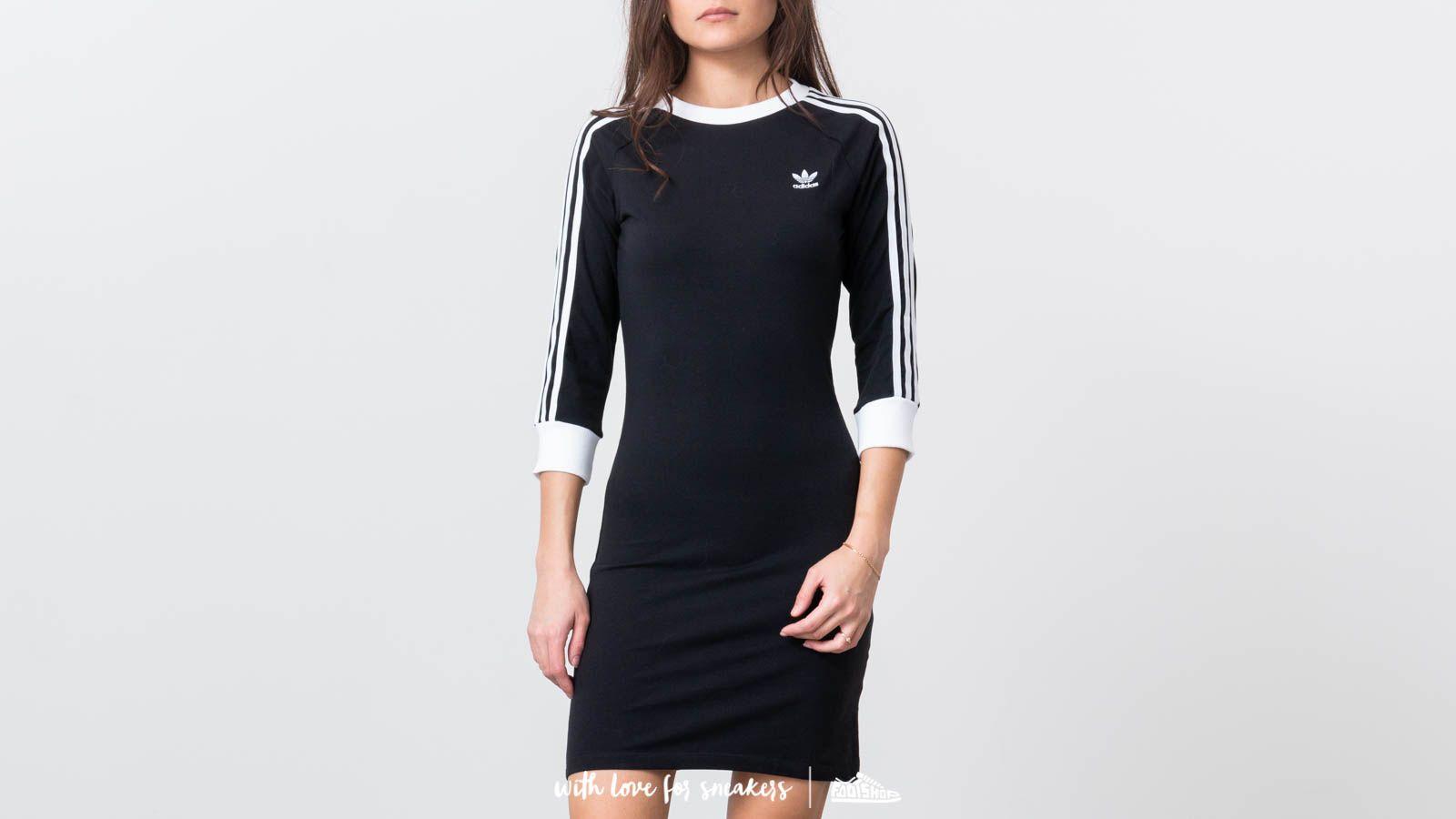 wholesale dealer 1f003 667dd adidas Originals 3-Stripes Dress Black