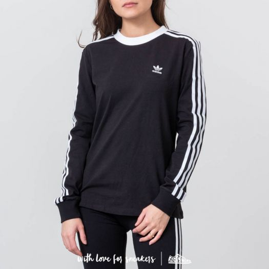 adidas Originals 3 Stripe Long Sleeve Tee