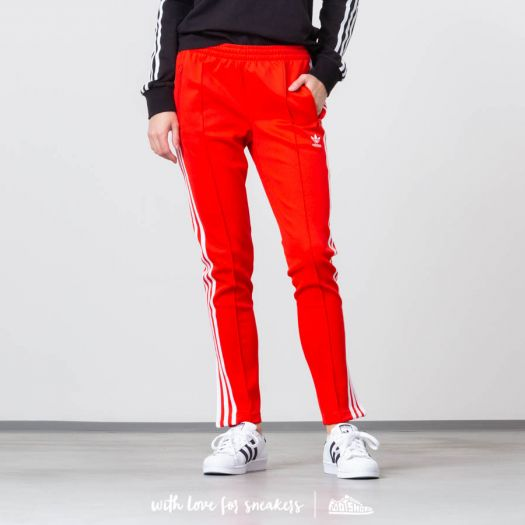 adidas SST Track Pants Active Red | Footshop