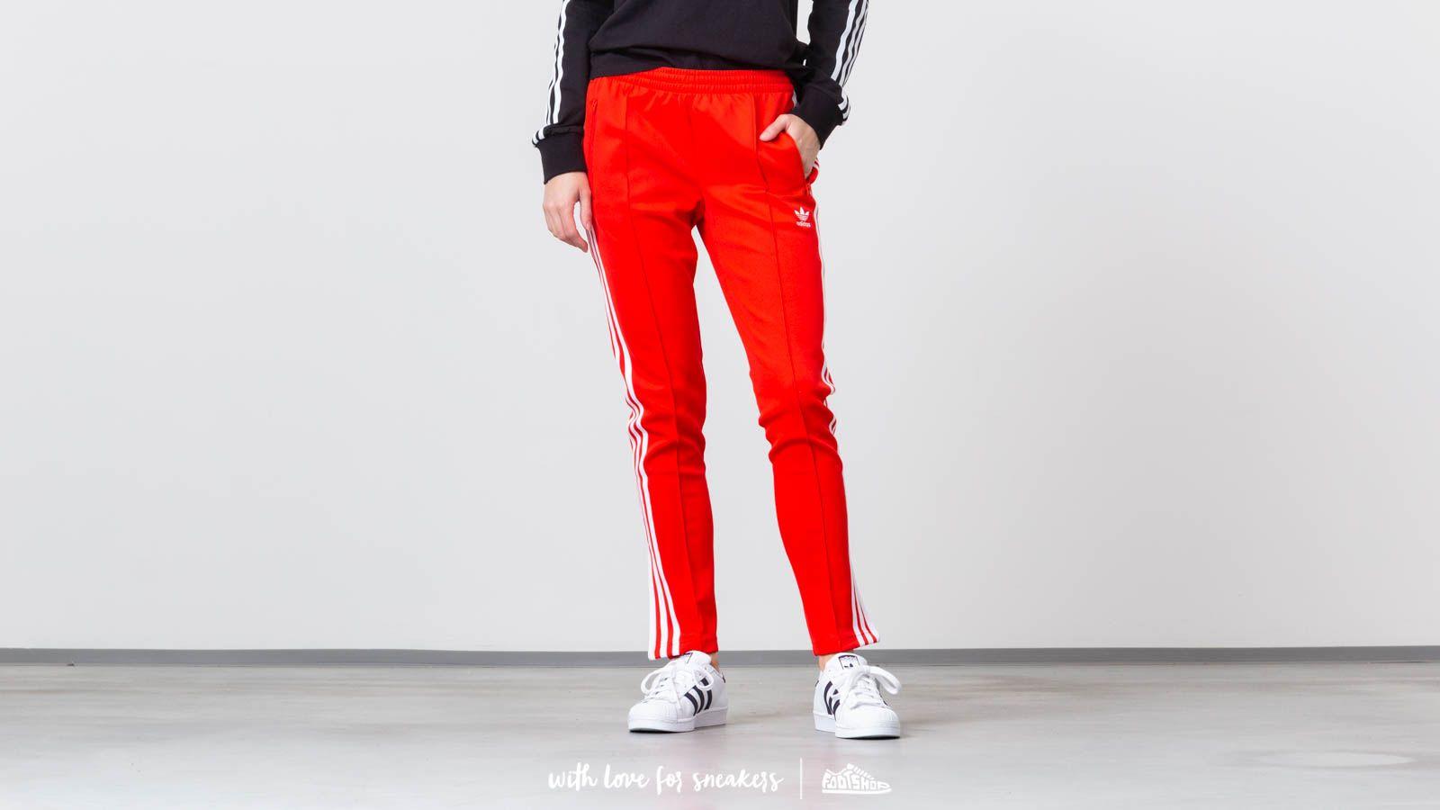 d65de742222 adidas SST Track Pants Active Red | Footshop