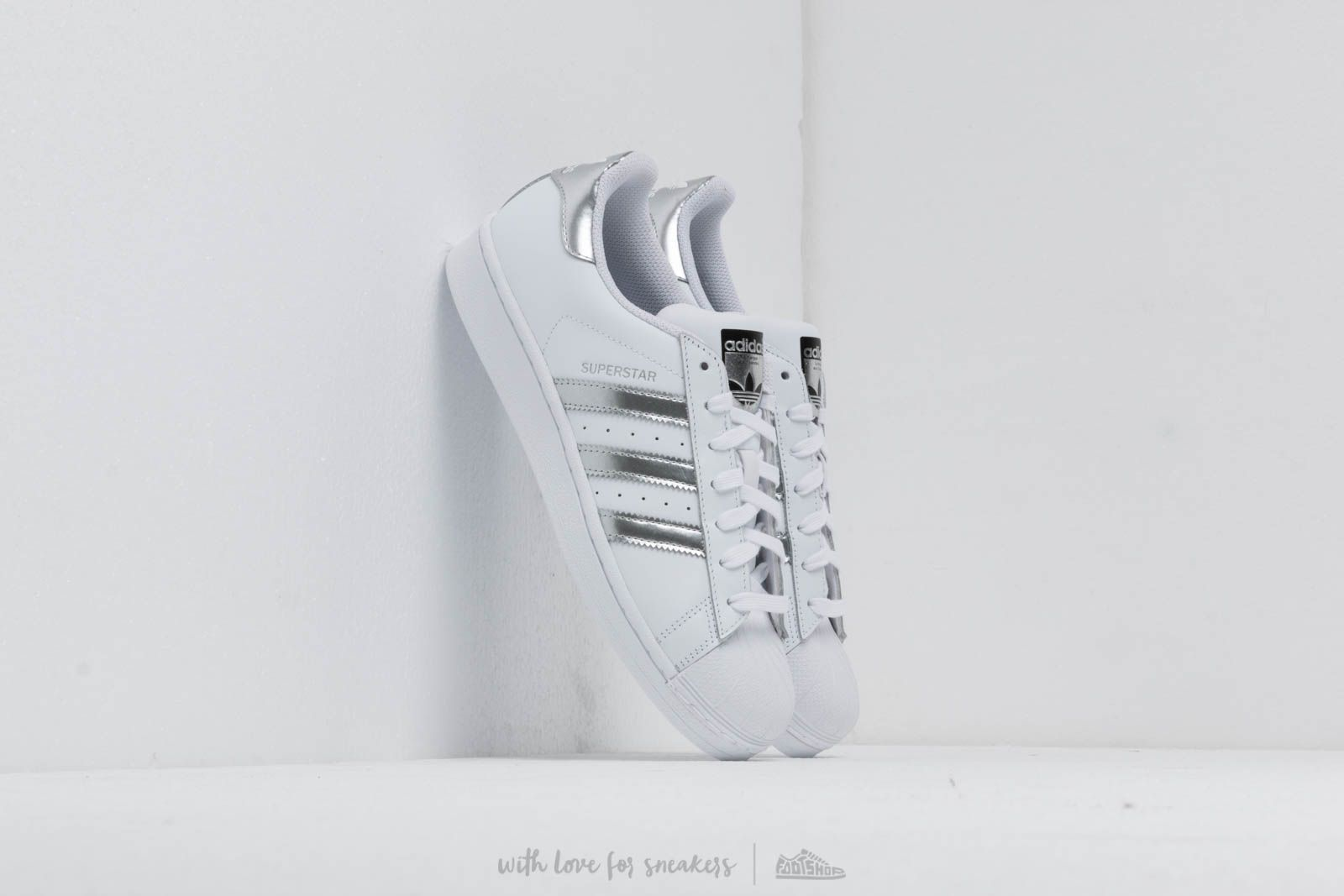 adidas Superstar Ftw White/ Silver Metallic/ Core Black