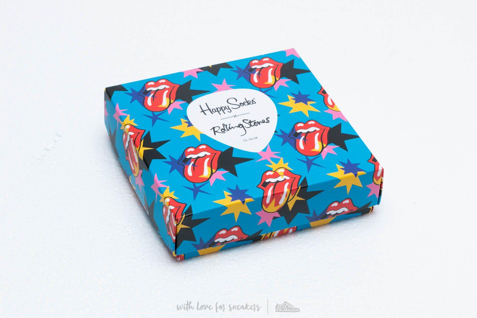 Ponožky Happy Socks Kids Rolling Stones Sock Box Set