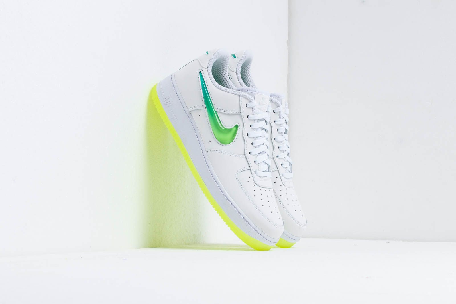 2ce07fcae9c46 Nike Air Force 1 '07 Prm 2 White/ Volt-Hyper Jade | Footshop