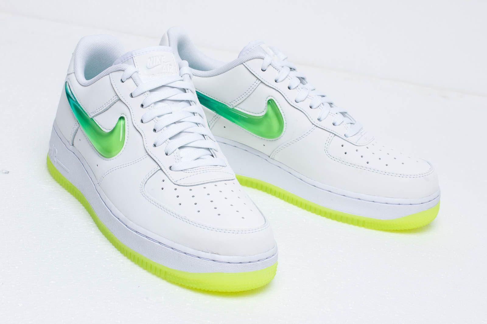 Nike Air Force 1 '07 Prm 2 White Volt Hyper Jade | Footshop