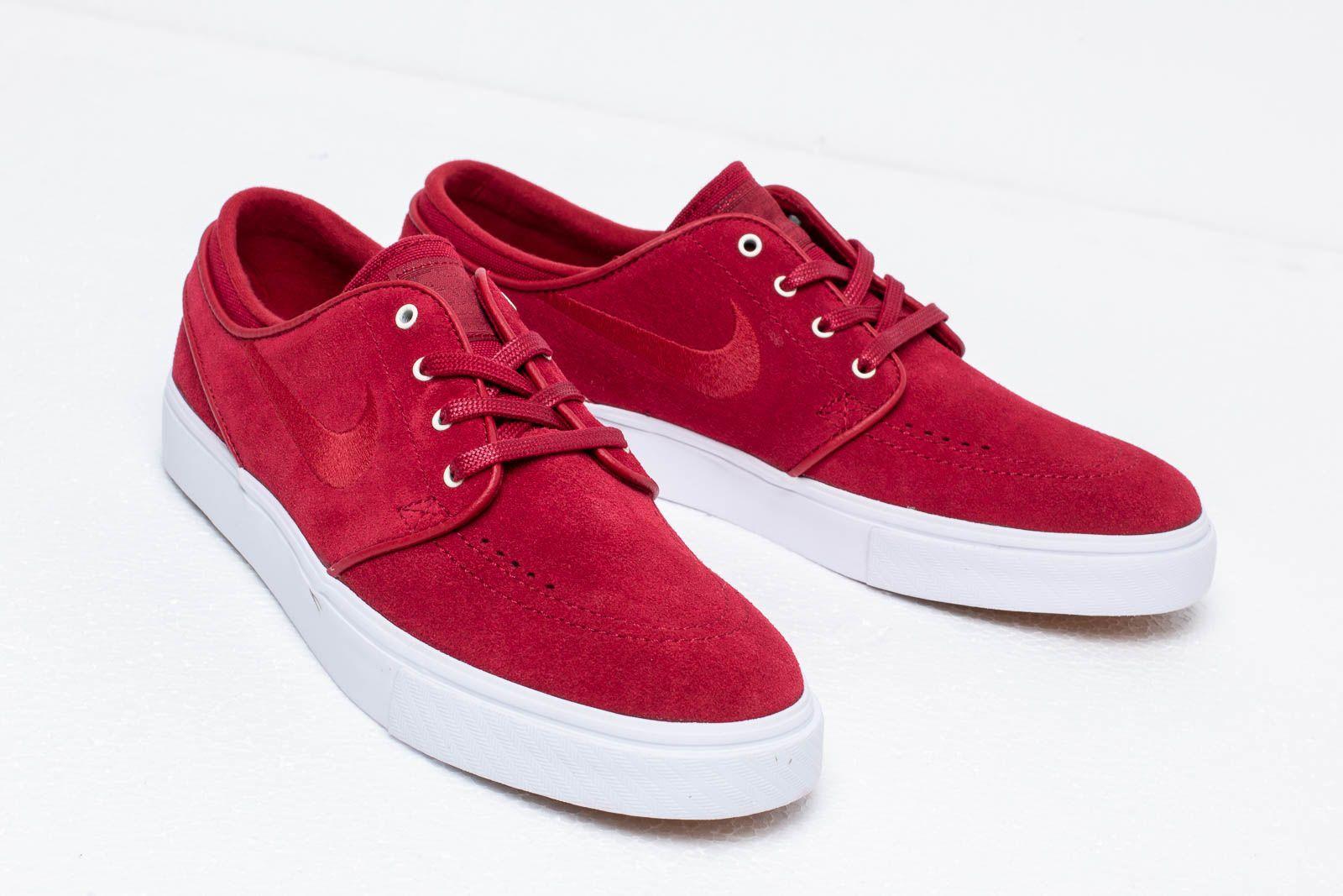 Nike Zoom Stefan Janoski Team Crimson Team Crimson White   Footshop