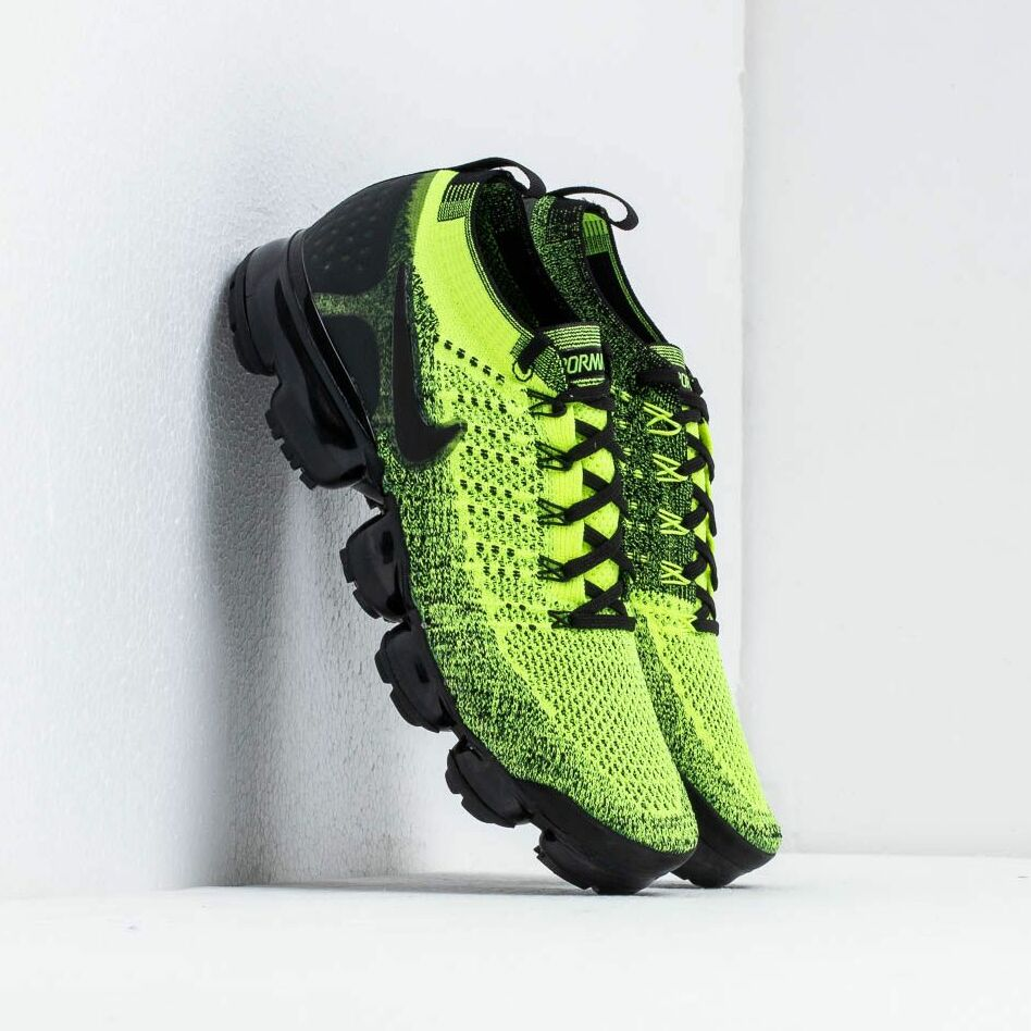 Nike Air Vapormax Flyknit 2 Volt/ Black-Volt EUR 43