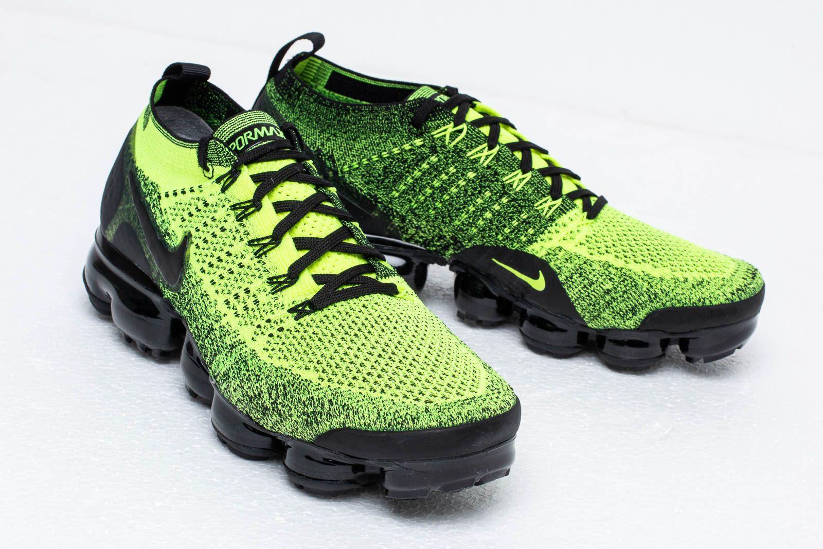 size 40 66fd6 7d72d Nike Air Vapormax Flyknit 2 Volt/ Black-Volt | Footshop