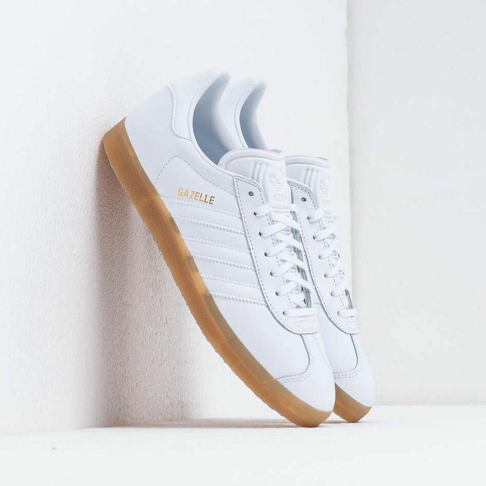 adidas Gazelle Ftw White/ Ftw White/ Gum4 EUR 44