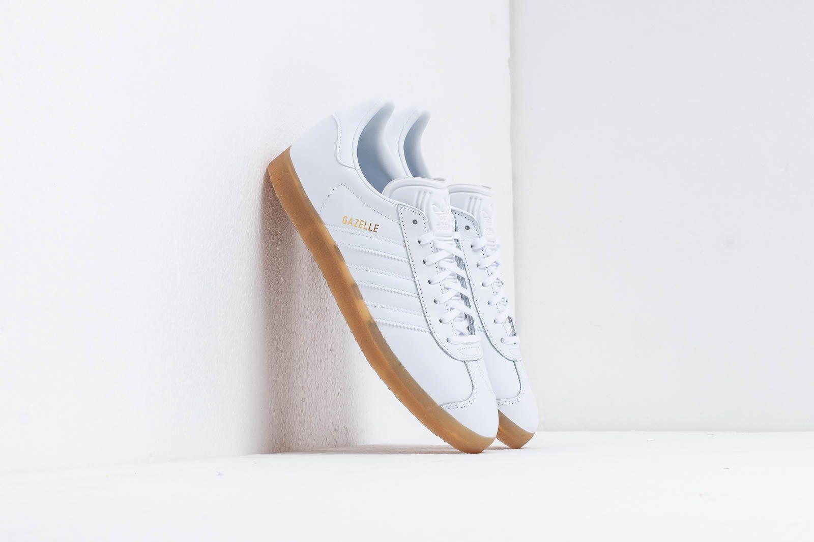 adidas Gazelle Ftw White/ Ftw White/ Gum4 at a great price 87 € bestell bei Footshop