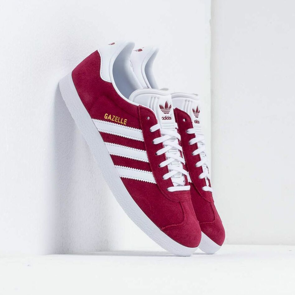 adidas Gazelle Cburgundy/ Ftw White/ Gold Metalic EUR 46
