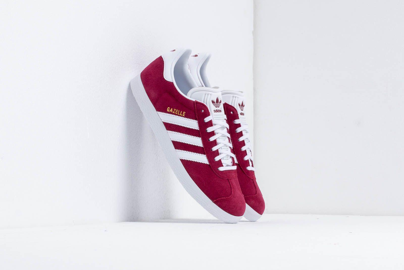 adidas Gazelle Cburgundy/ Ftw White/ Gold Metalic at a great price 87 € bestell bei Footshop