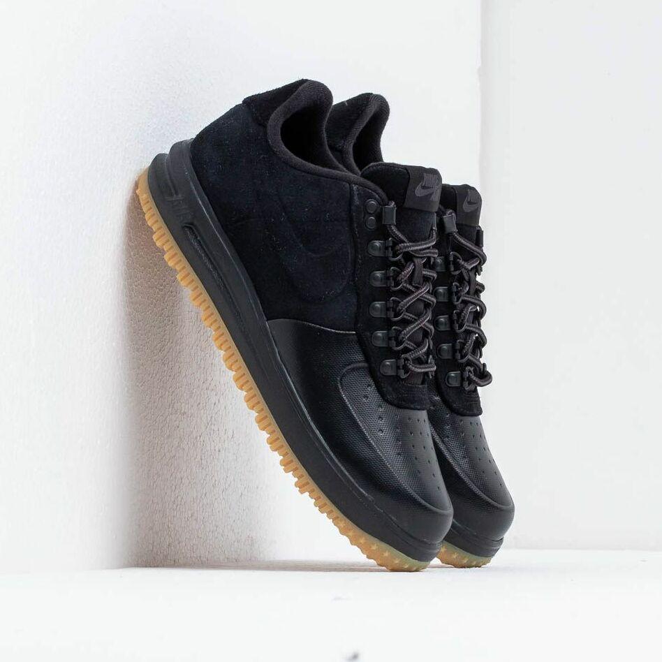 Nike Lf1 Duckboot Low Black/ Black-Anthracite-Gum Light Brown EUR 43