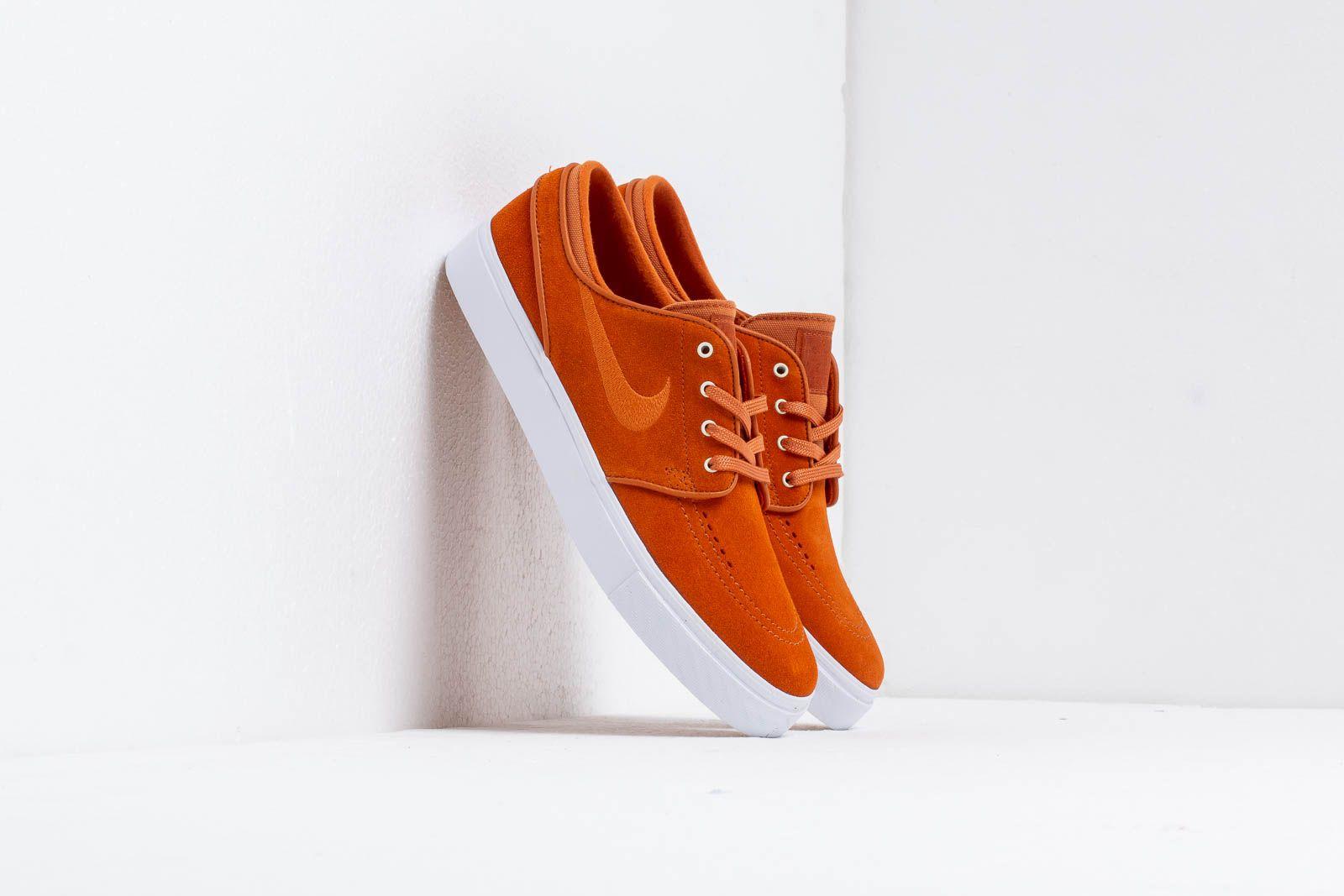 on sale 993c3 4753d Nike Zoom Stefan Janoski Cinder Orange  Cinder Orange-White at a great  price 81