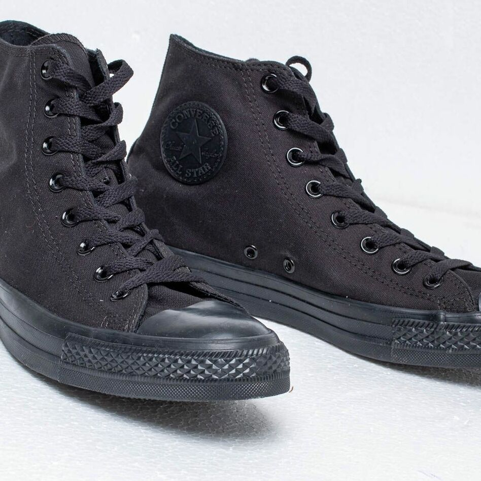 Converse Chuck Taylor All Star Hi Black Monochro